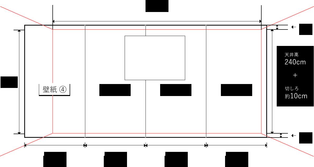 壁紙の分割サイズ